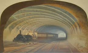 old fashioned tunnel